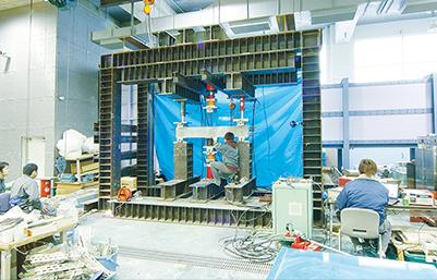 建築材料・構造実験室