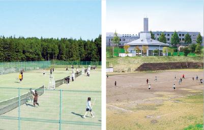 テニスコート・グラウンド