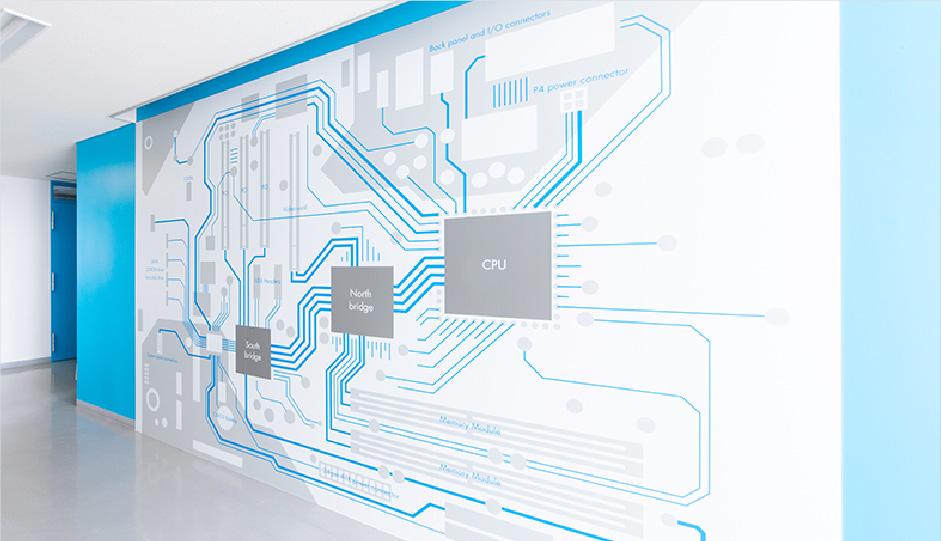 S 棟2 階「パソコンのマザーボード」