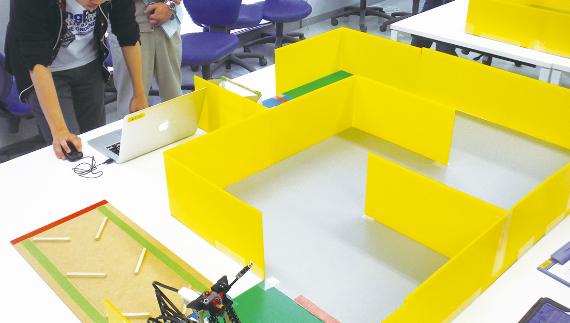 ロボット・システム制御コース実験I・II・Ⅲ・Ⅳ