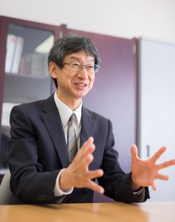 古口 日出男副学長
