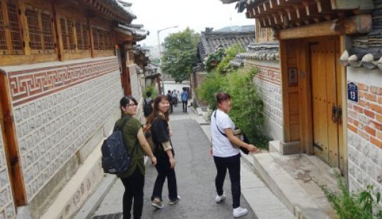2018年度海外研修 韓国 建国大学