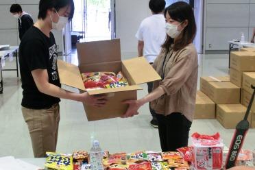 #新潟工科大学エールBOXを全学生に配付しました