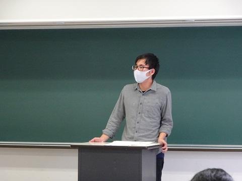 長野県人会代表挨拶